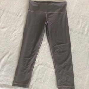 Grey lululemon yoga pants, size 4